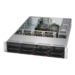 SuperServer 5029P-WTR, 2U, Intel C622, 10x SATA, 6x DDR4, Dual 10Gb Ethernet, 500W Rdt PSU