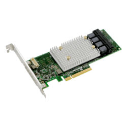 SmartRAID 3100 ASR-3154-16i, SAS 12Gb/s, 16-Port, PCIe 3.0 x8, Controller with 4GB Cache