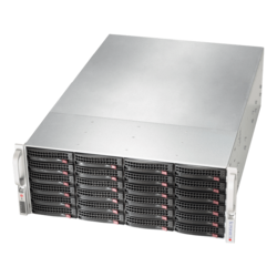 Storage Server - Supermicro SuperStorage 6049P-E1CR24H, Intel® Xeon® Scalable, SATA/SAS, 4U Storage Server Computer