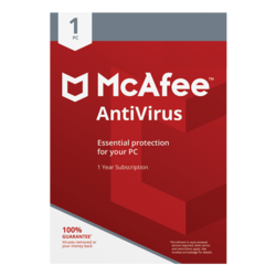 McAfee AntiVirus 2019 - 1 PC / 1 Year