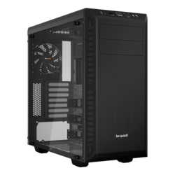 Pure Base 600 Tempered Glass, No PSU, ATX, Black, Mid Tower Case