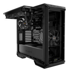 Dark Base 700 RGB LED Tempered Glass, No PSU, ATX, Black, Mid Tower Case