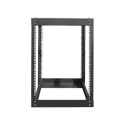 WOR1511-SF961U, 15U, 1100mm, Adjustable Open-frame Server Rack with 1U Heavy Duty Shelf