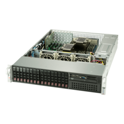 SuperServer 2029P-C1R, 2U, Intel C621, 8x SATA, 8x SAS, 16x DDR4, Dual 1Gb Ethernet, 1200W Rdt PSU