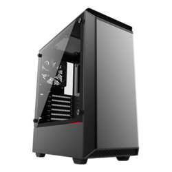 Eclipse Series P300 Tempered Glass, No PSU, ATX, Black, Mid Tower Case