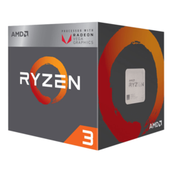 Ryzen™ 3 2200G 4-Core 3.5 - 3.7GHz Turbo, Radeon Vega 8 Graphics, AM4, 65W TDP, Retail Processor