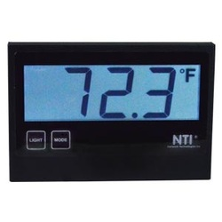 "Temperature/Humidity Sensor with 3-Digit 7-Segment LCD Display ? 2"" Character Height"
