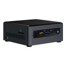 "NUC7PJYH, Intel Pentium Silver J5005, 2x DDR4 SO-DIMM, 2.5"" HDD/SSD, Intel HD Graphics 605, Mini PC Barebone"