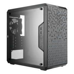 MasterBox Series Q300L w/ Acrylic Side Panel, No PSU, microATX, Black, Mini Tower Case