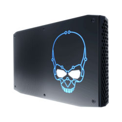 NUC8i7HVK, Intel Core i7-8809G, 2x DDR4 SO-DIMM, 2x M.2, Radeon RX Vega M GH Graphics, Mini PC Barebone