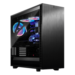 AMD X399 2-way GPU Quiet Gaming Desktop
