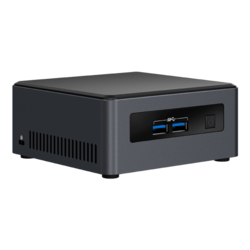 "NUC7i7DNHE, Intel Core i7-8650U, 2x DDR4 SO-DIMM, M.2, 2.5"" HDD/SSD, Intel UHD Graphics 620, Mini PC Barebone"