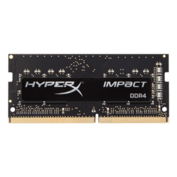 8GB HyperX Impact DDR4 2933MHz, CL17, Black, SO-DIMM Memory