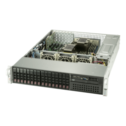 SuperServer 2029P-TXRT, 2U, Intel C621, 16x SAS/SATA, 16x DDR4, Dual 10Gb Ethernet, 1000W Rdt PSU