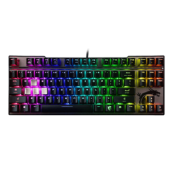 Vigor GK70 Red, Cherry MX RGB Red Switch, Wired USB, Black, Mechanical Gaming Keyboard