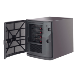 SuperServer 5029AP-TN2, Mini Tower, Intel® Atom™ Processor E3940, 6x SATA, DDR3, Dual 1Gb Ethernet, 250W PSU