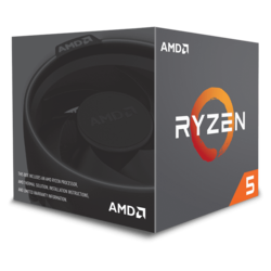 Ryzen™ 5 2600X 6-Core 3.6 - 4.2GHz Turbo, AM4, 95W TDP, Processor