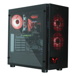AMD X470 2-way GPU Tower Gaming Desktop