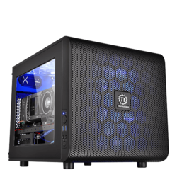 Mini Gaming Desktop - 2nd Gen AMD Ryzen™ Series Processors, X470 Chipset, Mini Cube Computer