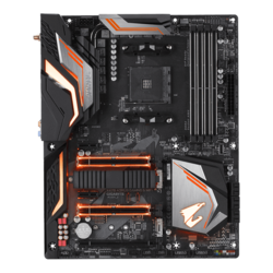 X470 AORUS GAMING 5 WIFI, AMD X470 Chipset, AM4, HDMI, ATX Motherboard