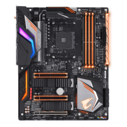 X470 AORUS GAMING 7 WIFI, AMD X470 Chipset, AM4, ATX Motherboard