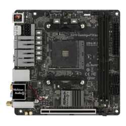 Fatal1ty X470 Gaming-ITX/ac, AMD X470 Chipset, AM4, HDMI, Mini-ITX Motherboard