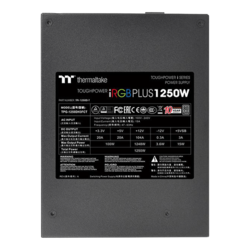 TPG-1250DH3FCT, 80 PLUS Titanium 1250W, Fully Modular, ATX Power Supply
