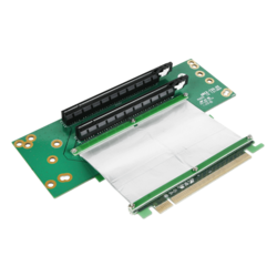 DD-630660-C7 2U 2 PCIe x16 with 7cm Ribbon Cable
