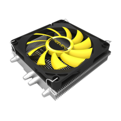 Vanxie, 34mm Height, Copper/Aluminum/Nickel CPU Cooler