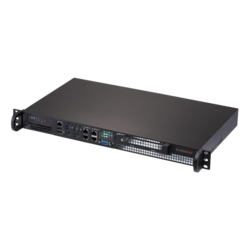 "SuperServer 5019D-FN8TP, 1U, Intel® Xeon® D-2146NT, 1x 3.5"" or 4x 2.5"" SATA, M.2, 4x DDR4, 2 x10Gb SFP+, 4 x1Gb, 2x 10Gb Ethernet, 200W PSU"