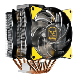 MasterAir MA620P TUF Gaming Edition, 165mm Height, 200W TDP, Copper/Aluminum CPU Cooler