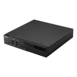 "PB60-B3041ZC, Intel® Core™ i3-8100T, 2x DDR4 SO-DIMM (4GB Pre-installed), M.2, 2.5"" HDD/SSD (500GB pre-installed), UHD Graphics 630, Windows 10 Pro, Mini PC"