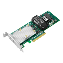 Adaptec SmartRAID 3162-8i/e, SAS 12Gb/s, 8-Port, PCIe 3.0 x8, Controller with 2GB Cache