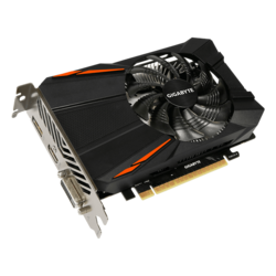 GeForce GTX 1050 D5 3G, 1392 - 1556MHz, 3GB GDDR5, Graphics Card
