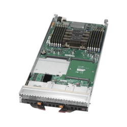 SBI-6119P-C3N, Single-Socket Blade, Intel C622, 3x SATA/SAS or 2x NVMe+1x SATA/SAS, 12x DDR4, Dual 10Gb Ethernet