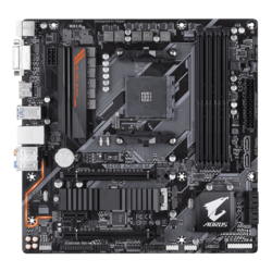 B450 AORUS M, AMD B450 Chipset, AM4, HDMI, microATX Motherboard
