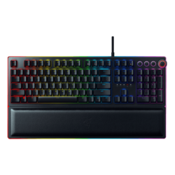 Huntsman Elite, RGB LED, Opto-Mechanical Switches, Wired USB, Black, Mechanical Gaming Keyboard