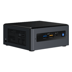 "NUC8i7BEH, Intel Core i7-8559U, 2x DDR4 SO-DIMM, M.2, 2.5"" HDD/SSD, Intel Iris Plus Graphics 655, Mini PC Barebone"
