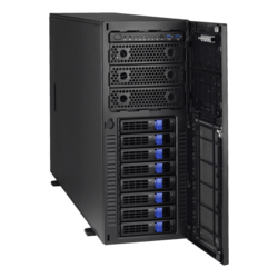 Thunder HX FT48T-B7105 (B7105F48TV8HR-2T-G), 4U Tower, Intel C621, 8x SATA, 2x M.2, 12x DDR4, Dual 10Gb Ethernet, 1968W Rdt PSU