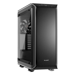 Dark Base Pro 900 rev. 2 Tempered Glass, No PSU, E-ATX, Black/Silver, Full Tower Case
