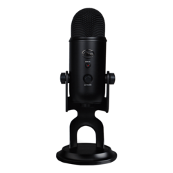 Yeti Blackout, Professional, 3 Condenser, USB, Black, Microphone