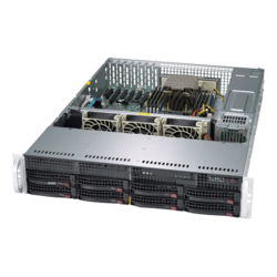 2U Rack Server - Supermicro A+ Server 2013S-C0R AMD EPYC™ 7000 Processors SAS/SATA 2U Rackmount Server Computer