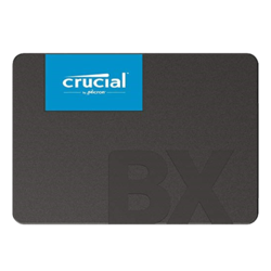 480GB BX500 7mm, 540 / 500 MB/s, 3D NAND, SATA 6Gb/s, 2.5-Inch SSD