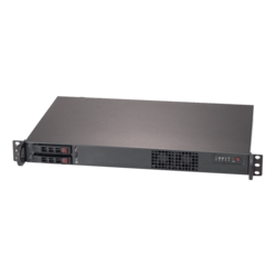 SuperServer 1019C-HTN2, 1U, Intel C246, 2x SATA, M.2, 4x DDR4, 2 x1Gb Ethernet, 200W PSU