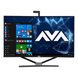 "All-in-One Desktops - Curved 32"" 144Hz QHD, Z370 Chipset, All-In-One Gaming PC"