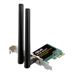 PCE-AC51/BULK, Internal, Dual-Band 2.4 / 5GHz, 300 / 433 Mbps, PCI Express 2.0 x1, Wireless Adapter