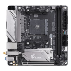 B450 I AORUS PRO WIFI, AMD B450 Chipset, AM4, HDMI, Mini-ITX Motherboard