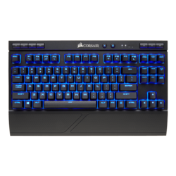 K63, Blue LED, Cherry MX Red, Wireless 2.4GHz USB, Black, Mechanical Gaming Keyboard