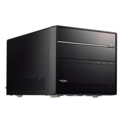 "SH370R6, Intel® H370 Chipset, 4x DDR4 DIMM, 1x M.2 NVMe/SATA, 1x 5.25"", 2x 3.5"" HDD, 80 PLUS Bronze 300W PSU, Cube PC Barebone"