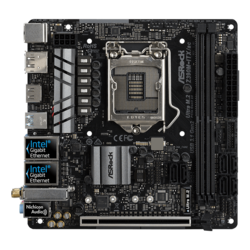 Z390M-ITX/ac, Intel Z390 Chipset, LGA 1151, HDMI, Mini-ITX Motherboard
